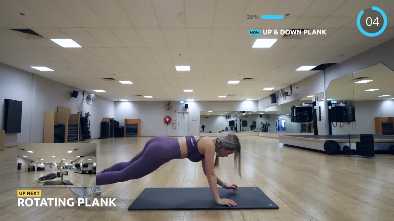 Get Lean and Toned ARMS - 10 Mins Arms & Core Workout